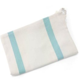 New SADLE, KTE Blue Striped Tea Towel