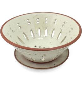 Sana Hastakala Speckled Ceramic Colander