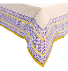 Asha Handicrafts Provincial Paisley Tablecloth