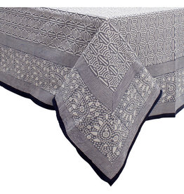 Asha Handicrafts Grey Skies Tablecloth