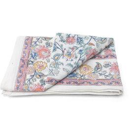 Asha Handicrafts Bold Flowers Tablecloth