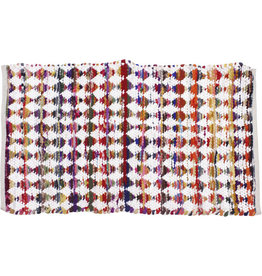 Sasha Association for Crafts Producers Diamond Dhurrie Rug