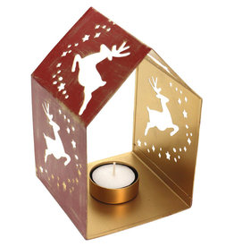 Sasha Association for Crafts Producers Reindeer Cutout Candleholder