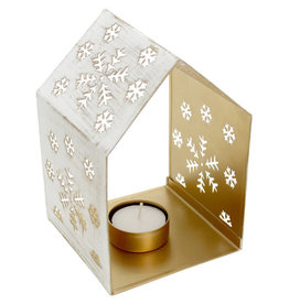 Sasha Association for Crafts Producers Snowflake Cutout Candleholder