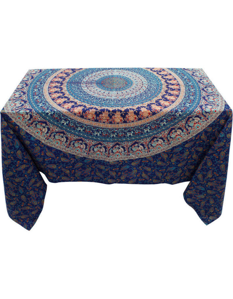 Craft Resource Center Royal Medallion Tablecloth
