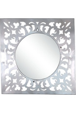 Noah's Ark Square Filigree Mirror