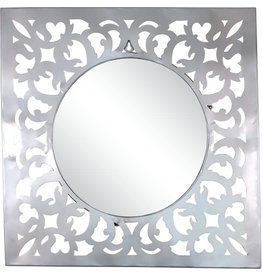 Noah's Ark Square Filigree Mirror
