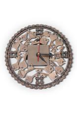 Noah's Ark Bicycle Chain Clock
