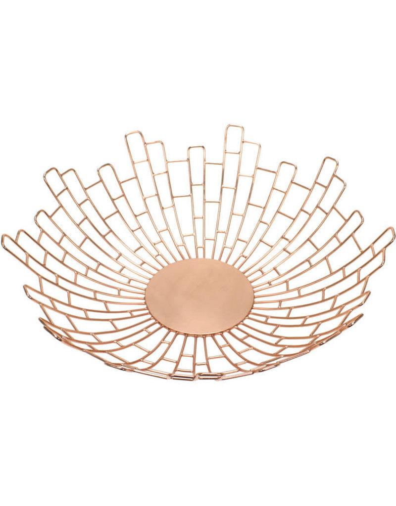 Noah's Ark Rose Gold Sunburst Bowl