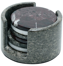 Dominion Traders Round Stone Coasters (Set of 6