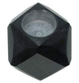 Dominion Traders Geometric Marble Tealight Holder (Single)