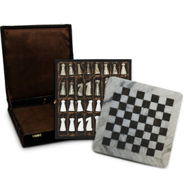 Dominion Traders Fossil Stone Chess Set