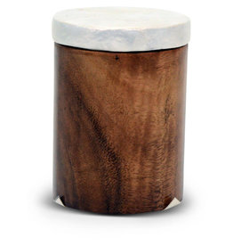 Saffy Handicrafts Acacia Wood Canister (Small)