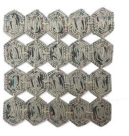 Women's Multipurpose Cooperative Coiled Paper Trivet (S)