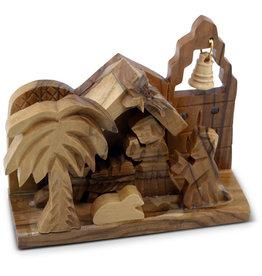 GE Workshops Small Olivewood Nativity