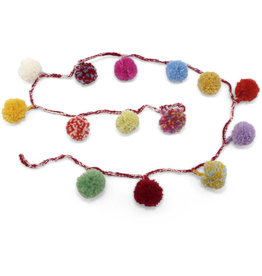 Kumbeshwar Technical School Wool Garland with Pompoms
