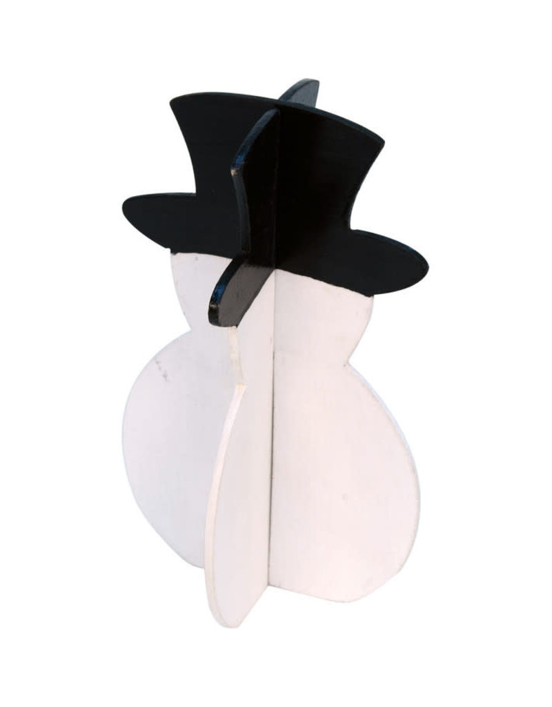 Asha Handicrafts Pop-Up 3D Snowman