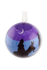 Asha Handicrafts Nativity Ball Ornament