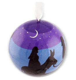 Asha Handicrafts Nativity Ball Ornament