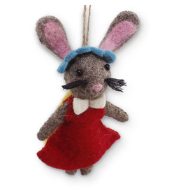 Asha Handicrafts Felt Mouse Ornament