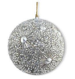 Asha Handicrafts Silver Beaded Ornament