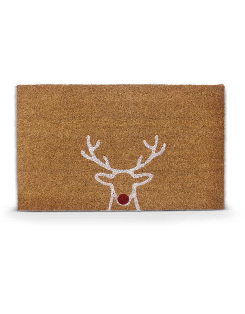 Asha Handicrafts Reindeer Doormat