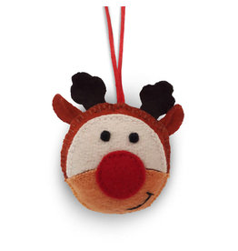 Craft Resource Center Felt Rudolph Ornament