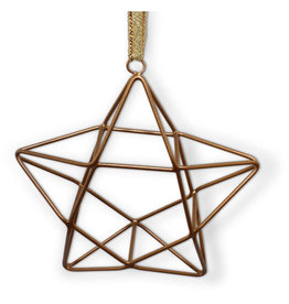 Noah's Ark Geometric Star Ornament