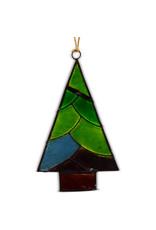 Saffy Handicrafts Capiz Christmas Tree Ornament