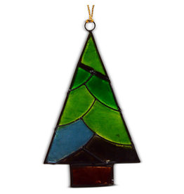 Saffy Handicrafts Capiz Christmas Tree Ornament