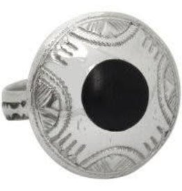 Union of Peasants for Self Development Desert Journey Ebony Ring (Medium)