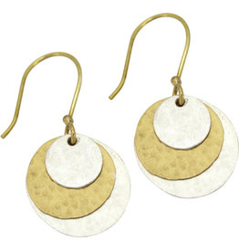 Bombolulu Workshop Layered Ring Earrings