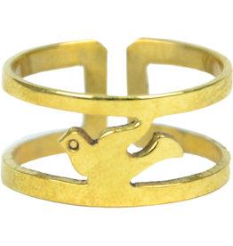 Rajana Association Dove Of Peace Ring