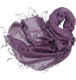 Craft Link Go With The Flow Plum Scarf