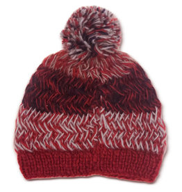 Kumbeshwar Technical School Fire And Ice Knitted Wool Hat