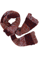 Kumbeshwar Technical School Fire And Ice Knitted Scarf