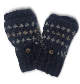 Kumbeshwar Technical School Wool Flap Mittens