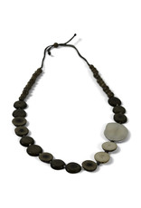Sapia Asymmetrical Tagua Necklace