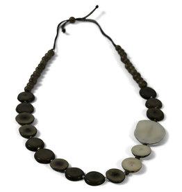Sapia Asymmetrical Tagua Necklace