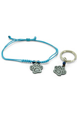 Sapia Matching Bracelet and Dog Tag Set