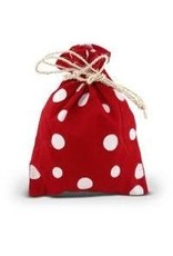 Corr the Jute Works Small Red Gift Bag
