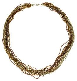 Asha Handicrafts Harvest Strands Necklace