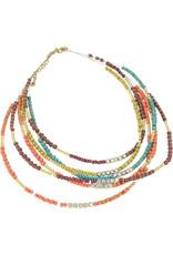 Asha Handicrafts Treasure Trove Beaded Necklace