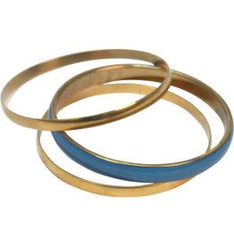 Asha Handicrafts Brass Bangles Trio