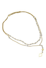 Asha Handicrafts Smoke And Light Necklace
