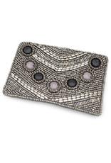 Asha Handicrafts Grey Coin Purse