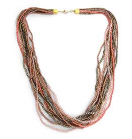 Asha Handicrafts Pastel Necklace
