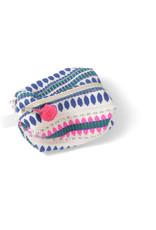 Asha Handicrafts Blue Dots Travel Case