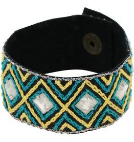 Sasha Association for Crafts Producers Diamond Zari Bracelet