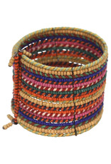 Sasha Association for Crafts Producers Rainbow Wrap Thread Bracelet